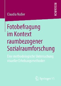Cover Fotobefragung im Kontext raumbezogener Sozialraumforschung