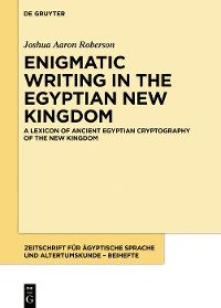 Cover A Lexicon of Ancient Egyptian Cryptography of the New Kingdom