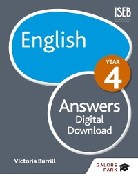 Cover English Year 4 Answers