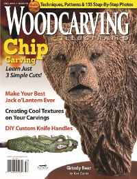 Cover Woodcarving Illustrated Issue 72 Fall 2015