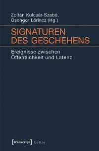 Cover Signaturen des Geschehens