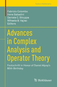 Cover Advances in Complex Analysis and Operator Theory