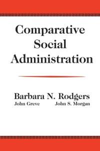Cover Comparative Social Administration