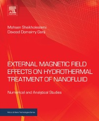 Cover External Magnetic Field Effects on Hydrothermal Treatment of Nanofluid