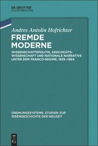 Cover Fremde Moderne