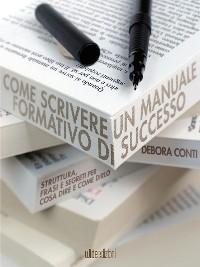 Cover Come scrivere un manuale formativo di successo
