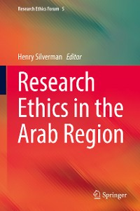 Cover Research Ethics in the Arab Region