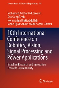 Cover 10th International Conference on Robotics, Vision, Signal Processing and Power Applications