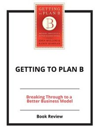 Cover Getting to Plan B
