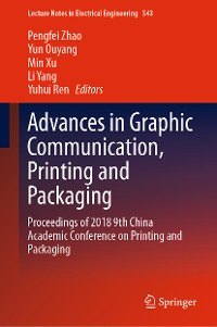 Cover Advances in Graphic Communication, Printing and Packaging