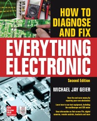 Cover How to Diagnose and Fix Everything Electronic, Second Edition