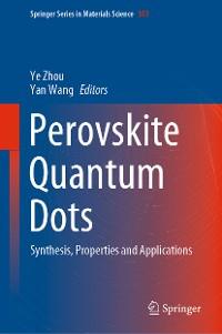 Cover Perovskite Quantum Dots