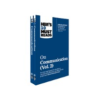 Cover HBR's 10 Must Reads on Communication 2-Volume Collection
