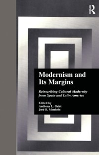Cover Modernism and Its Margins