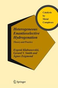 Cover Heterogeneous Enantioselective Hydrogenation