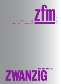 Cover Zeitschrift für Medienwissenschaft 20