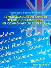 Cover Le problematiche dei rapporti tra religioni e istituzioni nel Commonwealth australiano