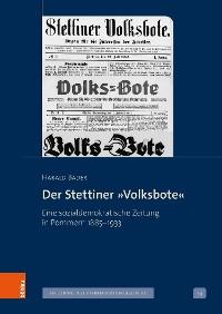 Cover Der Stettiner »Volksbote«