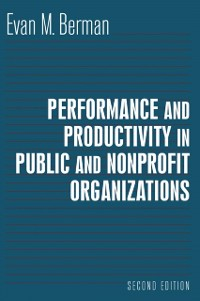 Cover Productivity in Public and Nonprofit Organizations