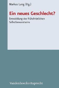 Cover Ein neues Geschlecht?