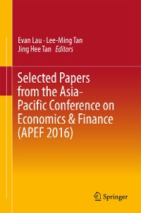Cover Selected Papers from the Asia-Pacific Conference on Economics & Finance (APEF 2016)