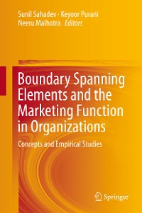 Cover Boundary Spanning Elements and the Marketing Function in Organizations