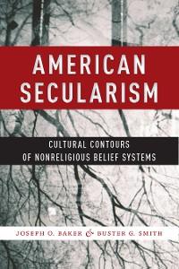 Cover American Secularism