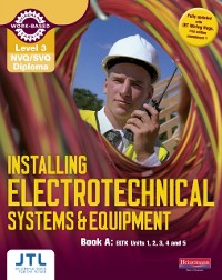 Cover L3 NVQ Inst Elec Sys and Eqp Book A  Library eBook