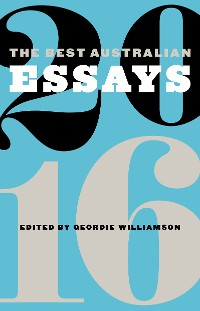 Cover The Best Australian Essays 2016