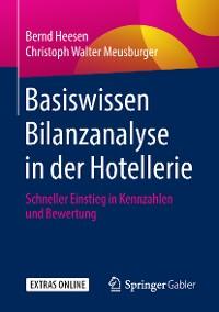 Cover Basiswissen Bilanzanalyse in der Hotellerie