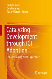 Cover Catalyzing Development through ICT Adoption