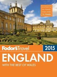 Cover Fodor's England 2015