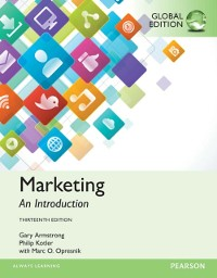 Cover Marketing: An Introduction, Global Edition