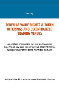 Cover Token as value rights & Token offerings and decentralized trading venues