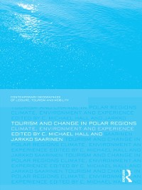 Cover Tourism and Change in Polar Regions