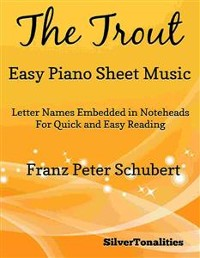 Cover The Trout Easy Piano Sheet Music