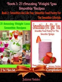 Cover 21 Healthy Green Recipes & Fruit Ninja Blender Recipes