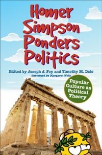 Cover Homer Simpson Ponders Politics