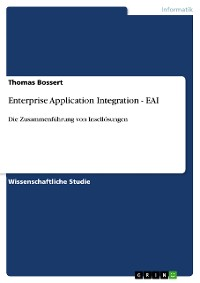 Cover Enterprise Application Integration - EAI