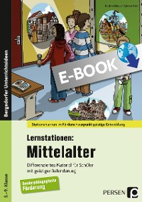 Cover Lernstationen: Mittelalter