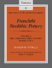 Cover Franchthi Neolithic Pottery, Volume 2, vol. 2