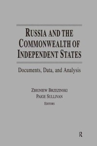 Cover Russia and the Commonwealth of Independent States