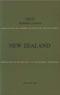 Cover OECD Economic Surveys: New Zealand 1979