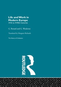Cover Life and Work in Modern Europe