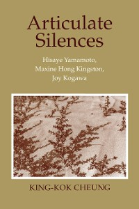 Cover Articulate Silences