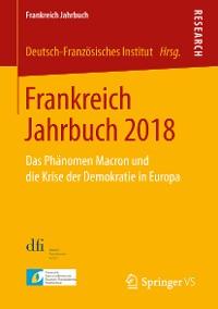 Cover Frankreich Jahrbuch 2018