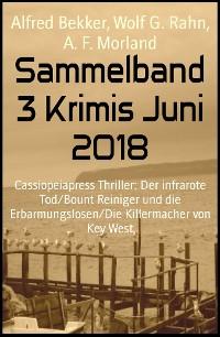 Cover Sammelband 3 Krimis Juni 2018
