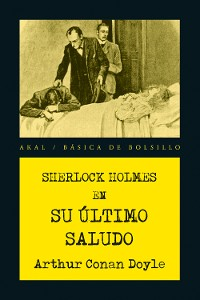 Cover Sherlock Holmes. Su último saludo