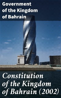 Cover Constitution of the Kingdom of Bahrain (2002)