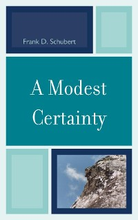 Cover A Modest Certainty